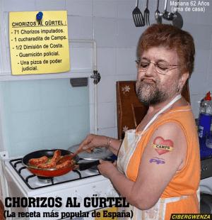 Chorizos a la Gürtel….Rico, Rico