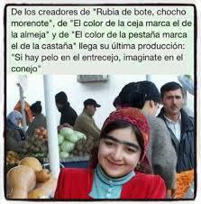 Rubia de Bote….
