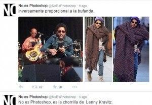 La «Bufanda» de Lenny Kravitz