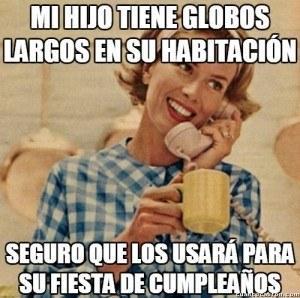 Fiesta Con Globos Largos