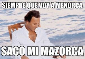 Julio Iglesias en Menorca