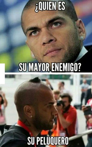 El Mayor Enemigo de Dani Alves