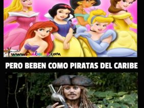 Se Creen Princesas de Disney