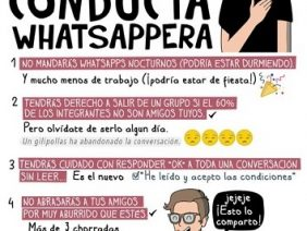 Conducta Whatsappera