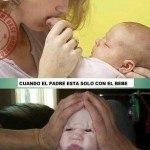 Solos con el Bebé