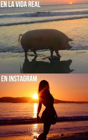 Vida Real vs Instagram