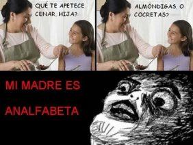 Madre Analfabeta