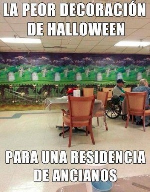 La Peor Decoración de Halloween