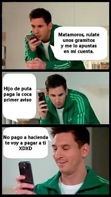 Messi y Hacienda