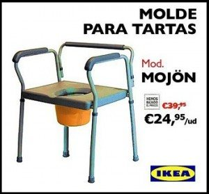 Molde para Tartas Ikea