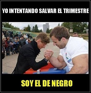 Intentando Salvar el Trimestre