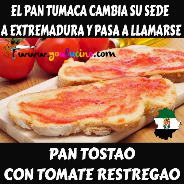 El Pan Tumaca Extremeño