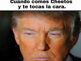 Cara de Cheetos
