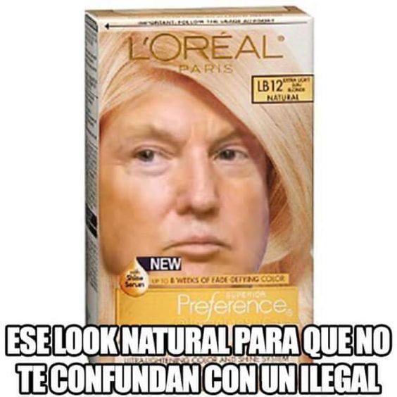 look natural