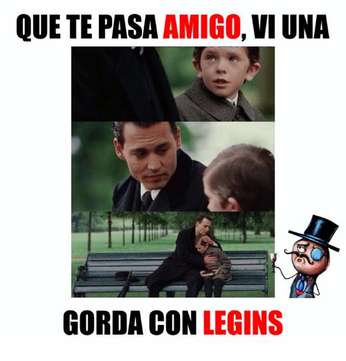 Gorda con Legins