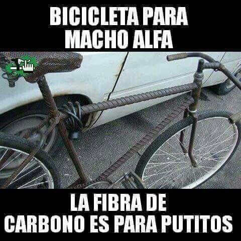Bicicleta para Macho Alfa