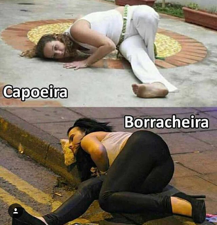 Capoeira VS Borracheira