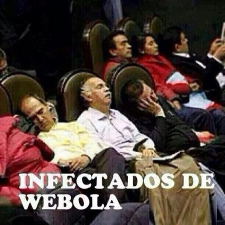 Infectados de Wébola