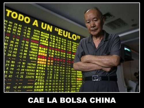 Cae la Bolsa China