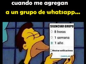 Cuando Me Agregan a un Grupo de Whatsapp