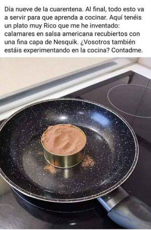 Experimentos de Cocina en Cuarentena