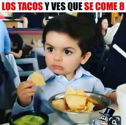 8 tacos